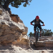Awesome mountainbiking at Horsethief Trail with @justin_reiter  and friends. Now back to snowboarding!