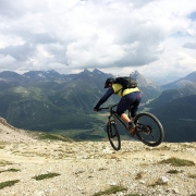 What a weekend! I am looking forward to ride these trails again at the @rockymountainbicycles Trail Games (www.trailgames.ch) in the beautiful Engadin. Check out the unique event and be a part of it! #UnitedbyChrissports