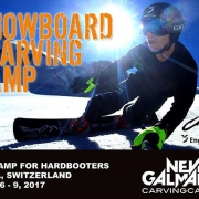 The Snowboard Carving Camp 2017 is ready for you! It's already the 6th edition where you can ride and learn from Worldcup professionals 🏂💨 Date: April 6 - 9, 2017 Location: Scuol, Switzerland Details on: www.carvingcamp.ch