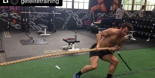 """""""The origins of Tug of War are uncertain, but this sport was practised in ancient Egypt, Greece and China, where it was held in legend that the Sun and Moon played Tug of War over the light and darkness."""" 👨🏻🎓 - #Repost @getelitetraining (@get_repost) ・・・ A little fun in todays warm up: @nevingalmarini and @gillesroulin7 are fighting for who can leave first into the well deserved weekend! 😜 happy #weekend everyone! #highperformance #training #elitetraining #switzerland #tugofwar"""