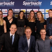Happy faces at the Internationale Sportnacht @isn_davos #PabloandtheGang