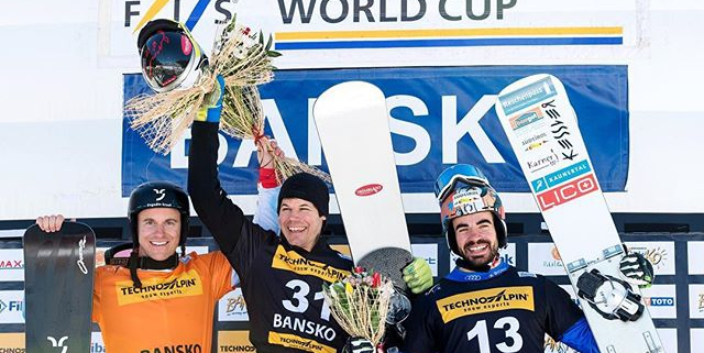 2nd in Bansko! #hellyeah @fissnowboard  Congrats to Jasey Jay Anderson!!!