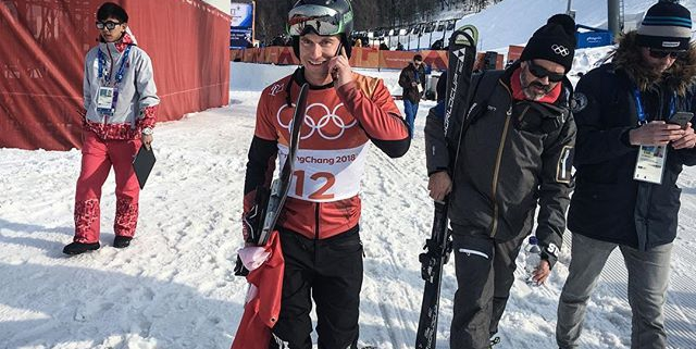 In between interviews and doping control I found a moment to make this emotional phone call with my girlfriend. Thanks to @swisscom inOne I was always connected with my friends and family back home.  #swisscom #inOne #bestnet #olympics #PyeongChang2018 #TeamSUI #swissnowboardteam
