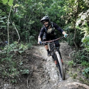 Here in Finale Ligure to get ready for the Helveticup Enduro Race at home in @engadinscuol next Saturday, June 2nd. BTW they are still looking for volunteers for the event. If you want to help -> contact the organizers here:  helfer@ses-s-chellas.ch | @ses_s_chellas 📷: @raphwerner